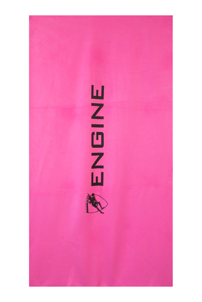 Engine Microfibre Towel- Pink