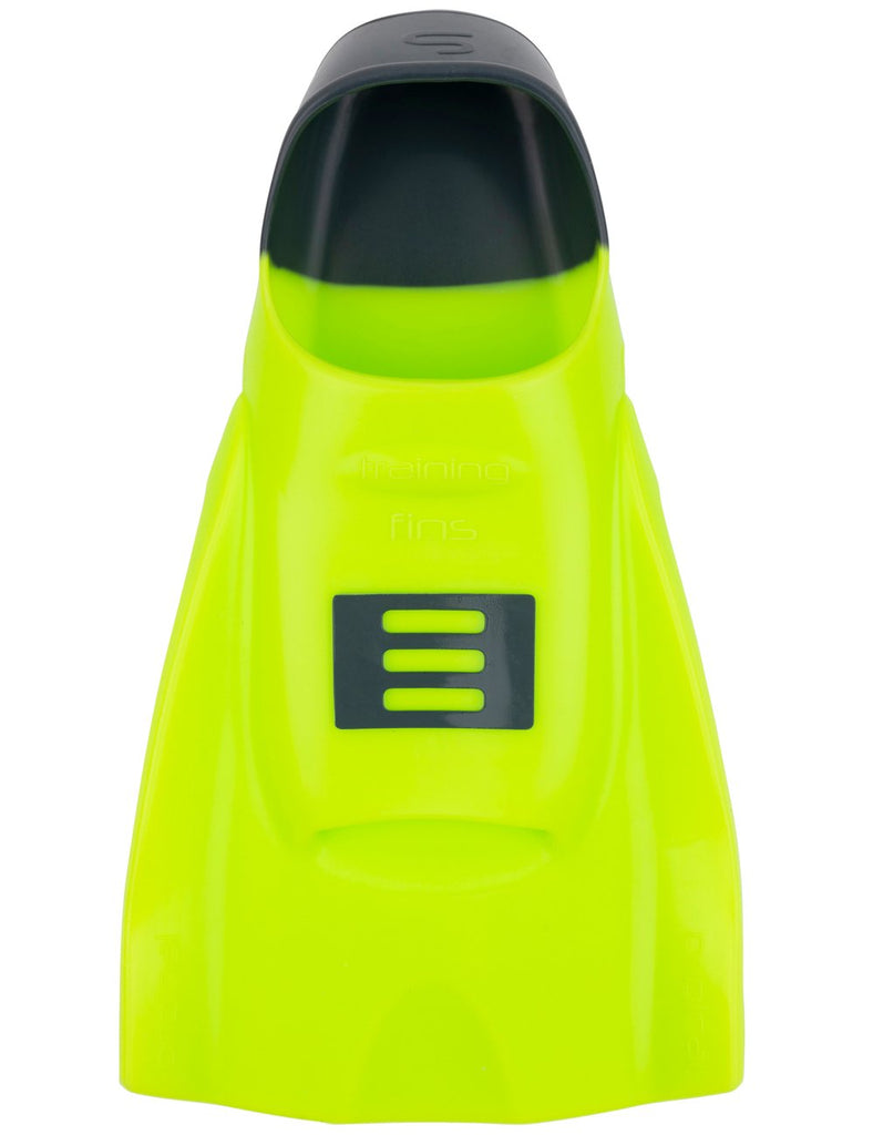 DMC Original Short Training Fins- Fluro/Charcoal