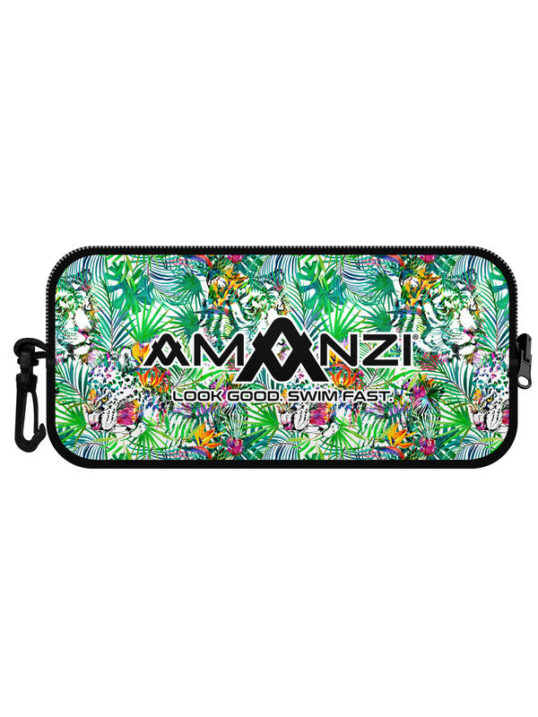 Amanzi Goggle Case- Jungle Fever