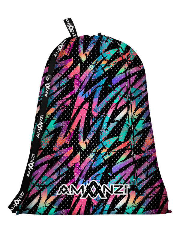Amanzi Mesh Gear Bag- Liquid Storm