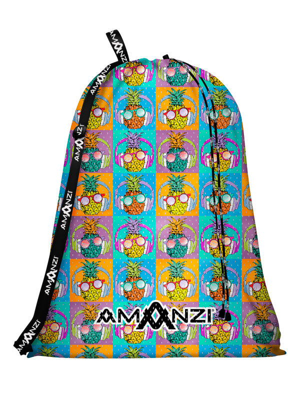 Amanzi Mesh Gear Bag- Tropic Tunes