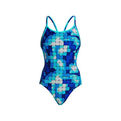 Funkita Women's Diamond Back One Piece - Deep Impact