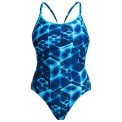 Funkita Women's Diamond Back One Piece- Another Dimension
