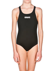 Arena Solid Swim Pro Girl's One Piece Black