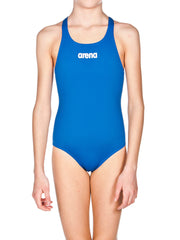 Arena Solid Swim Pro Girl's One Piece Royal