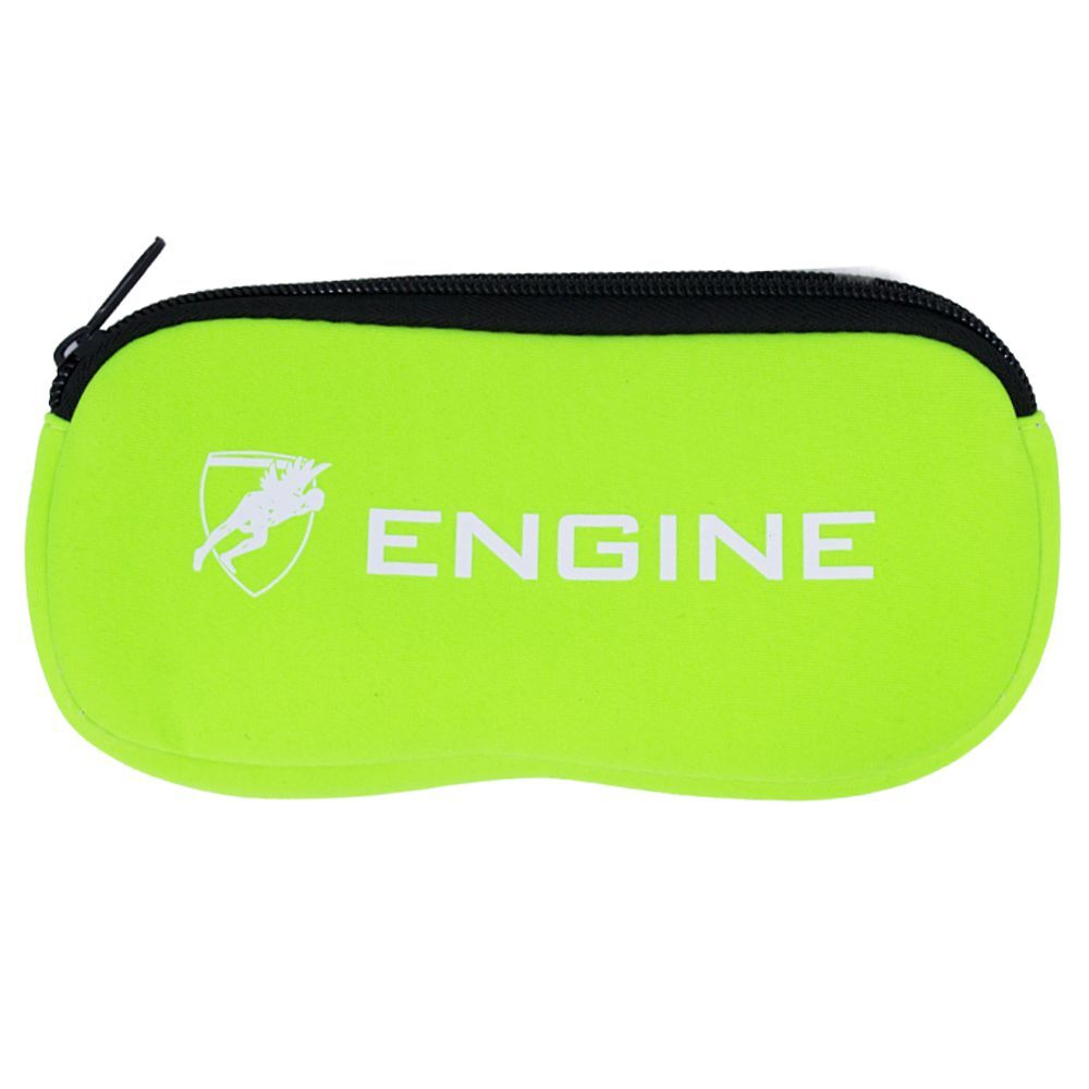 Engine Goggle Case- Lime