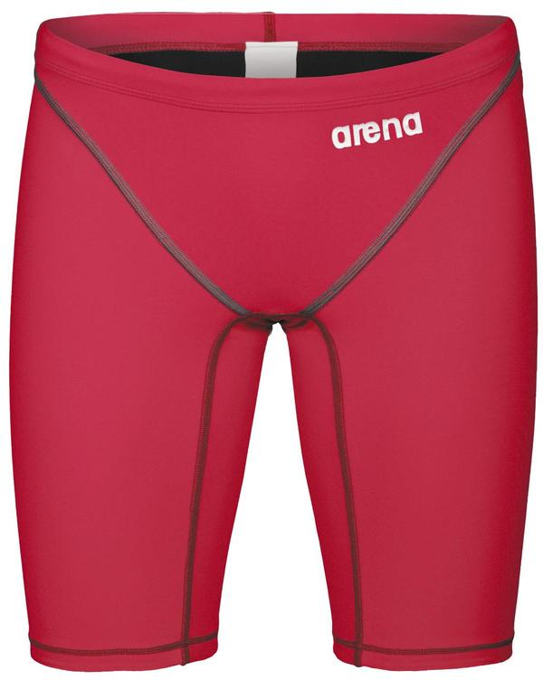 Arena Powerskin ST 2.0 Boy's Racing Jammer- Deep Red