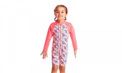 Funkita Girl's Eco Go Jumpsuit One Piece - Pink Panda