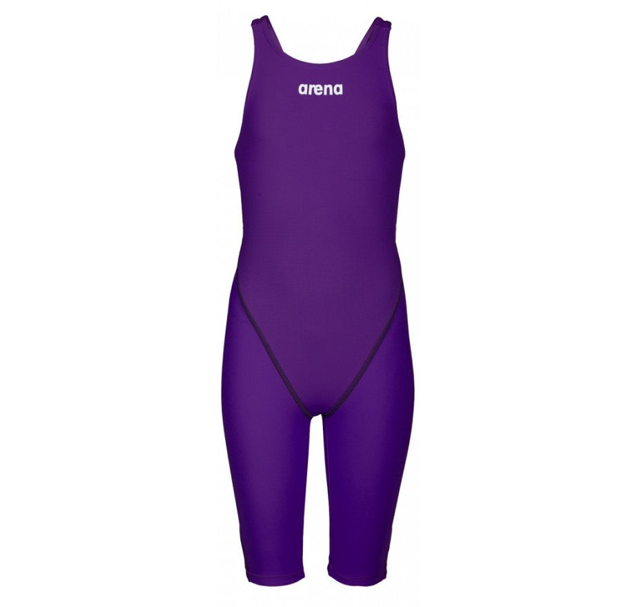 Arena Powerskin ST 2.0 Girl's Open Back Racesuit- Purple