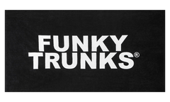 Funky Trunks Towel- Still Black