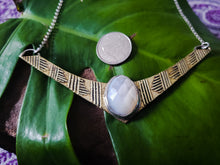 Load image into Gallery viewer, Mother of Pearl Shield Pendant