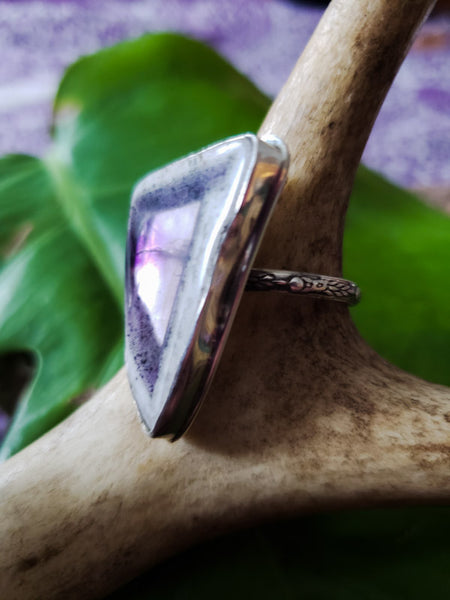 Size 10 Amethyst Ring