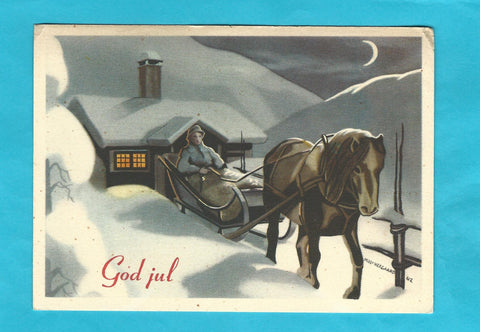 AK God jul. (Milly Heegaard - Serie B nr. 127)