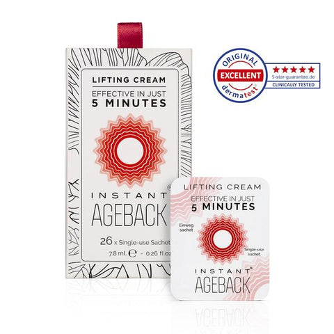 Vitayes Instant Ageback Lifting crème, een gladde huid in slechts 5 minuten (26x single use sachet)
