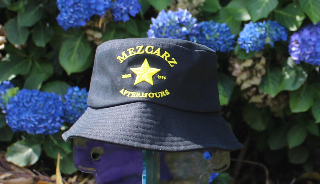 Mezcarz Bucket Hat - Black/Yellow