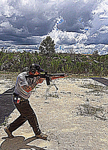 RIFLE ALTERNATIVE SHOOTING POSITIONS