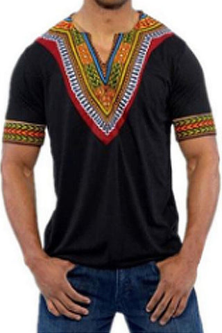 Africa Clothing Dashiki V-neck T Shirt