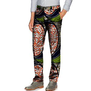 Pants Mens Dashiki Print Trousers
