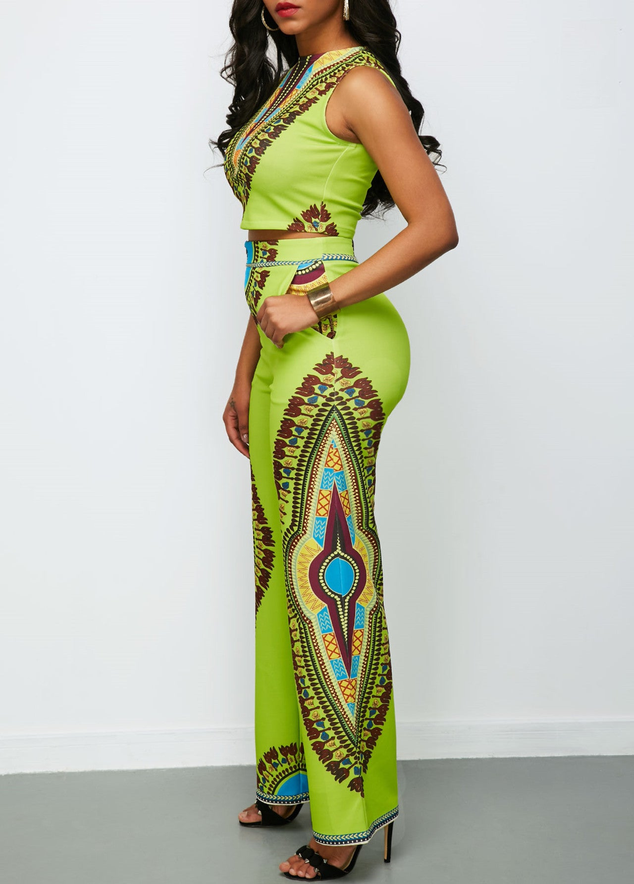 Fashion  African Print Women's  Casual Suits