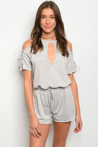 Amy Cold Shoulder Romper