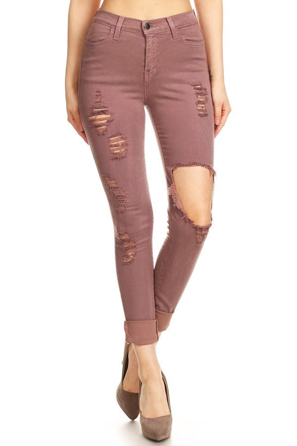 Eva Distressed Pants
