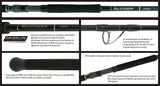 Yamaga Blanks Blue Sniper 96ML Shore Casting Rod