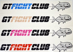 GTFIGHTCLUB Stickers