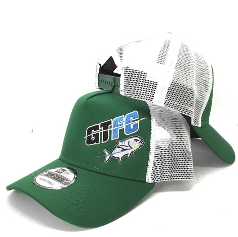 GTFC Snapback Trucker Cap - Kelly Green