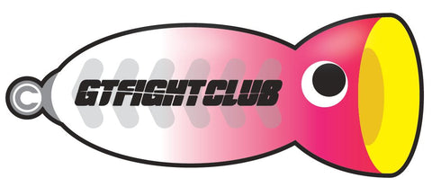 GTFIGHTCLUB GTFC Lure Stickers
