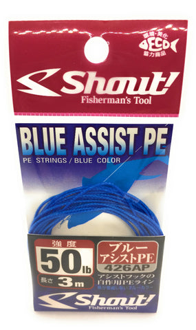 Shout! Blue Assist PE Line 50lb 426AP