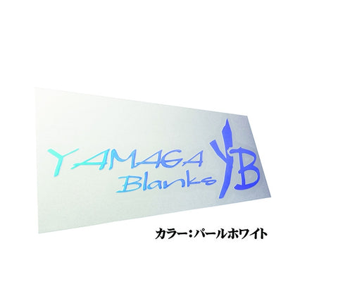 Yamaga Blanks Sticker Pearl White