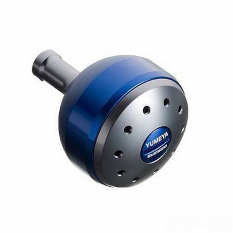 Shimano Yumeya Aluminum Round Power Handle Knob Blue L Knob Type B