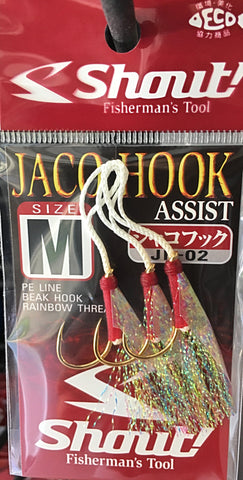 Shout! Jaco Hook Rigged Assist Rainbow JH02 - M