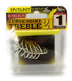 Shout Curve Point Treble 21 221CS