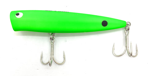 Go-Phish TKP115YK GP Topwater Floating Popper 115 mm / 29 g Neon Green