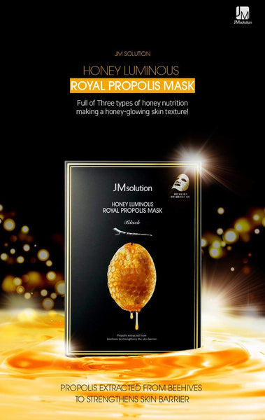 JMsolution -  honey luminous royal propolis mask