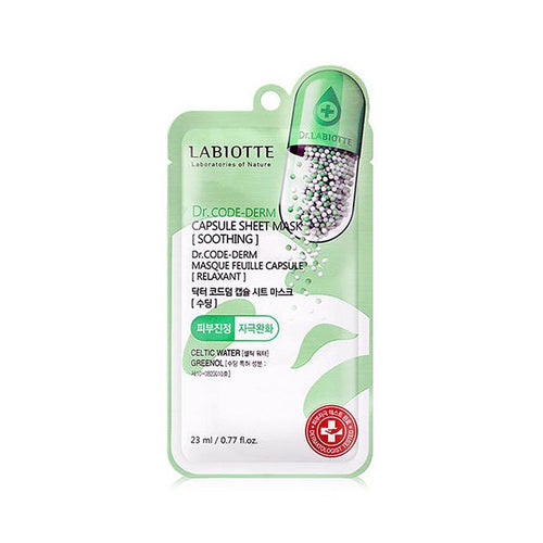 [LABIOTTE] Dr.Code-Derm Capsule Sheet Mask - Soothing