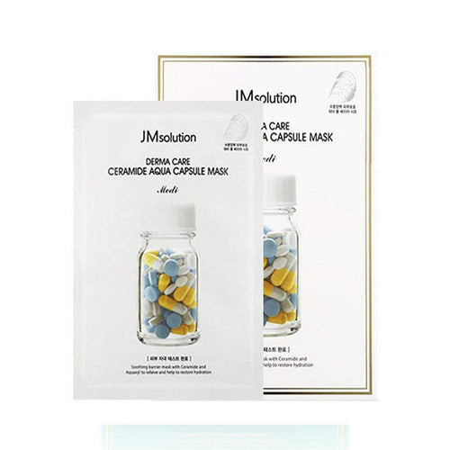 JM Solution Derma Care Ceramide Aqua Capsule Masks
