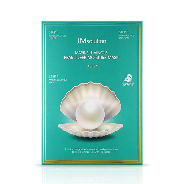JM Solution Marine Luminous Pearl Deep Moisture 3 Step Mask