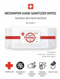 mwdiwiper hand sanitizer wipes 80 sheets