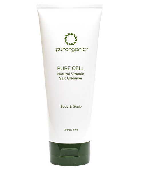 Purorganic-Purecell Natural Vitamin Salt Cleanser 240ml(8floz) Made in USA
