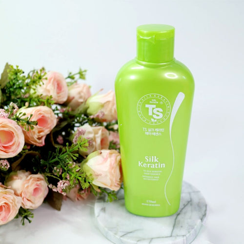 TS Silk Keratin Hair Essence  ( Hair treatment for damaged and dry hair )