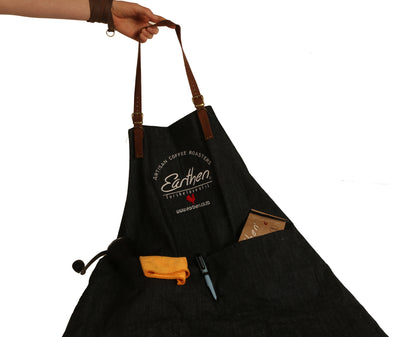 Denim & Leather Apron