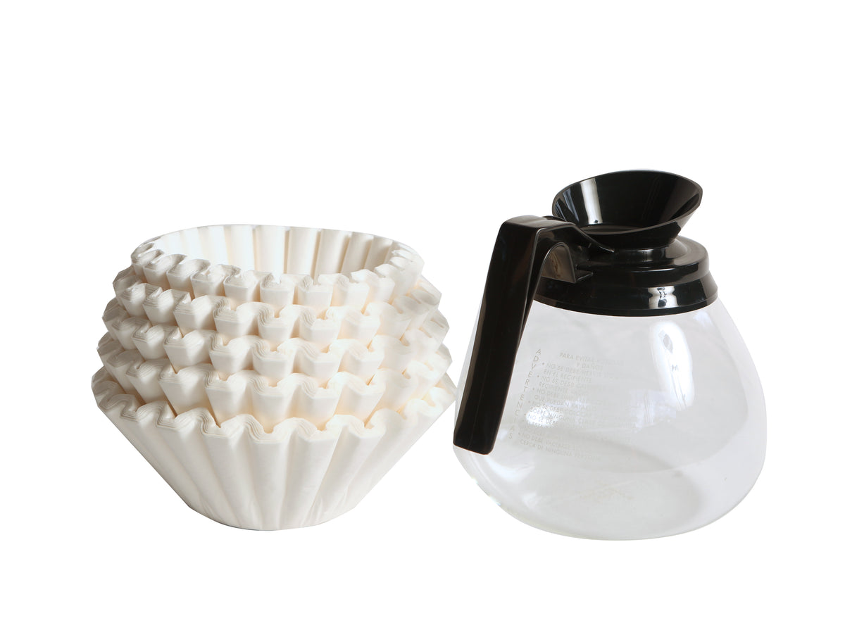 Glass Filter Coffee Decanter