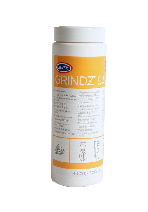 Urnex Grindz Professional Coffee Grinder Cleaning Tablets