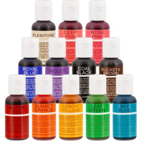 Chefmaster Liqua-Gel Food Colour Paste 0.7oz/20ml