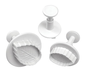 Mondo Rose Leaf Plunger Cutter Set