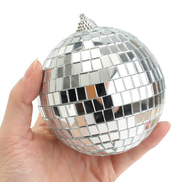 Disco Mirror Ball Cake Topper 12cm