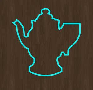 Coffee Pot Cookie Cutter