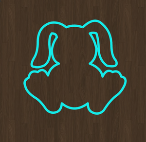 Baby Bunny Cookie Cutter